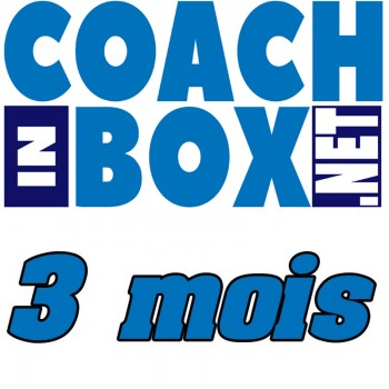 Coach in box - 1 trimestre sans prélèvement